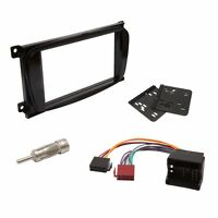 Ford Black Double DIN CD Radio Stereo Facia Fascia Adaptor Plate Fitting Kit