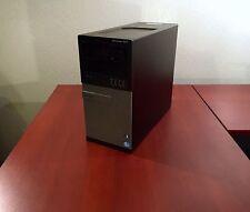 Dell Optiplex 7010 Intel i7 3770 3.4GHz 8GB RAM 250GB HDD 1GB Vid 7470 Win7 Pro