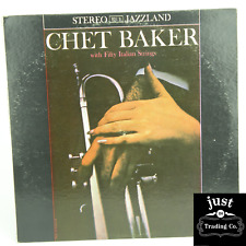 Chet Baker ‎– Chet Baker With Fifty Italian Strings 1960 Original lp Jlp 921s EX