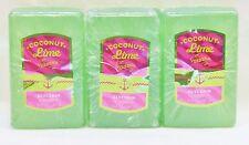 3 Coconut Lime Verbena Glycerin Soap Bath & Body Works 5.2 Oz