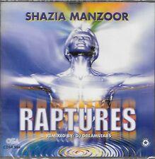 SHAZIA MANZOOR - RAPTURES - BRAND NEW SOUND TRACK CD