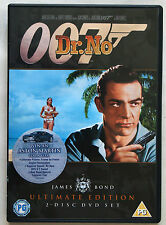 JAMES BOND / DR NO / ULTIMATE EDITION / 2 DISC SET / SPECIAL FEATURES / R2