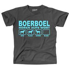 T-Shirt BOERBOEL HÖREN AUFS WORT by Siviwonder Unisex