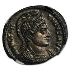 Roman Bronze AE3 Emperor Constantine I (307-337 AD) MS NGC - SKU#114978