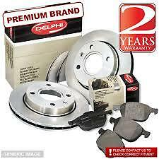 Delphi Front Brake Discs  Ford Fiesta 1.4TDCI 2002>08 BG3359