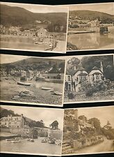 Somerset PORLOCK WEIR x10 collection c1910/50s? PPCs