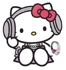 New HELLO KITTY Headphones Kids Volume Limiting Sound SAFE LISTEN TECHNOLOGY