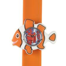 Anisnap Clownfish watch snap on wrist splash resistant watches for girl and boys