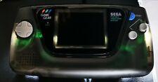 Sega Game Gear Transparent-Schwarzes Gehäuse - Neue Kondensatoren