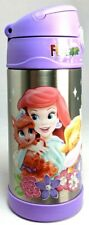 Disney Thermos Funtainer Princesses Ariel Sleeping Beauty Cinderella Bottle Kids