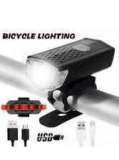 USB LED Fahrradbeleuchtung Fahrrad Licht Fahrad Scheinwerfer Fahrradlampe
