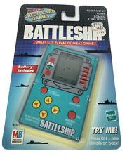 Battleship Milton Bradley Electronic Credit Card Size Handheld Game New