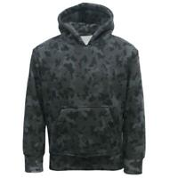 Kids GAME Army Military Night Camo Hooded Sweatshirt Top Fleece Hoodie