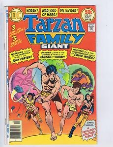 Tarzan Family Presents Korak #61 DC 1976