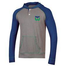 c84e14190 Hartford Whalers Retro Hockey Long Sleeve Hoodie T-shirt Size Medium