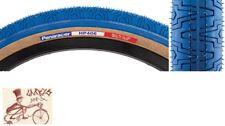 2 BMX Fortune Kontack 20x1.95 Fast Rolling Freestyle Street Black Blue Sidewall