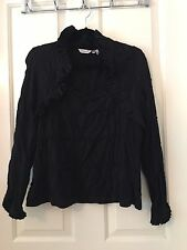 Ravel Ladies Decorative Black Top Size XL