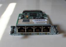 Cisco HWIC 4ESW Card Module Ethernet Switch