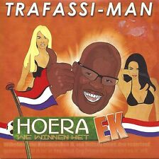 Trafassi-Man – Hoera We Winnen Het EK  cd single in cardboard