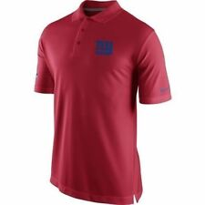 NIKE NEW YORK GIANTS DRI FIT STAY COOL COACHES ON FIELD POLO SHIRT SMALL