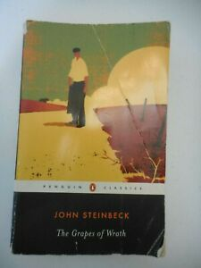 Penguin Classics The Grapes of Wrath  John Steinbeck  Paperback