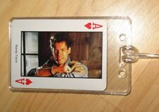 Randy Travis Luggage Tag - Vintage 1980's Country Music Western Playing Card Tag