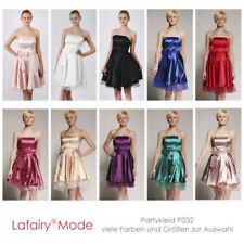 Ärmellose knielange Damenkleider im Abendkleid-Stil