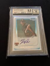2011 BOWMAN CHROME PROSPECT ~ LUIS HEREDIA AUTO BGS 9.5/10 ~ PIRATES AUTOGRAPH