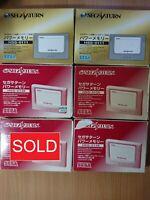 SS Sega Saturn Power Memory Cartridge (Boxed) EXTERNAL STORAGE CARD (HSS-0138)