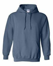 Brand New Gildan Men's Heavy Blend Hoodie 50/50 Solid/Heather Colors (S-4XL)