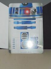 """Star Wars R2D2 Childs Wall Sign Bedroom Locker Party Decor 8.5"""" x 12.5"""" NEW"""