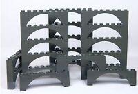 LEGO ARCH 2x8 x20 pieces # DARK STONE GREY # bridge window wall castle