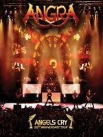 ANGRA - ANGELS CRY - 20TH ANNIVERSARY TOUR  DVD NEUF!!