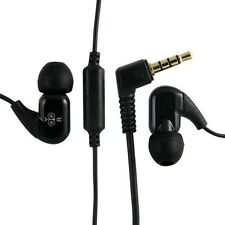 Jabees Stereo Earphone Earbud WE102M Black White