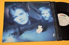 INKER & HAMILTON LP DANCING INTO DANGER ORIG GERMANY 1988 EX
