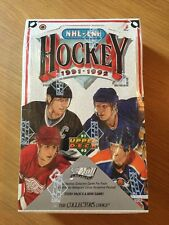 91-92 Upper Deck NHL LNH Hockey Wax Box, 36 Packs Factory Sealed!  Gretzky