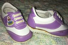 Vintage Cirkids Purple/White Baby Girl Sneakers Size 1 Rare Find! Adorable!