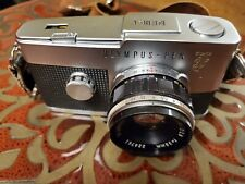 Olympus Pen F camera, Zuiko 38mm f/1.8, excellent condition, film tested
