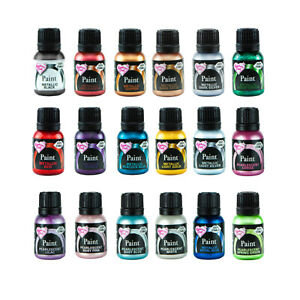 Rainbow Dust 100% Edible Food METALLIC Paint For Cup Cake Decorating Sugarcraft
