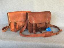 """Handmade Goat Leather Padded 13"""" Satchel SMPR+ Laptop Bag Billy Goat Designs"""
