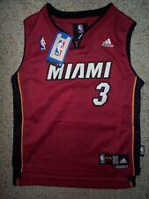 STITCHED/SEWN Miami Heat DWAYNE WADE nba Jersey YOUTH KIDS BOYS CHILDRENS (7)
