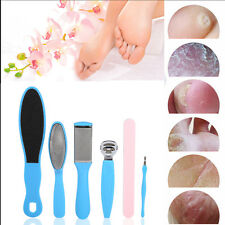 10PCS Foot Care Hard Skin Callus File Exfoliating Remover Scrubber Pedicure Tool