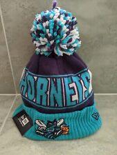Charlotte Hornets New Era Beanie Cap Logo On Court Micheal Jordan NBA Basketball