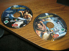 """Prince of Persia """"THE SANDS OF TIME"""" COMPUTER GAMES (2) disk set (GAME with MSI)"""