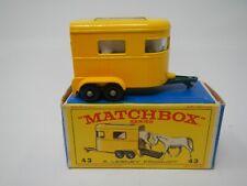 Matchbox Series Pony Trailer MB43