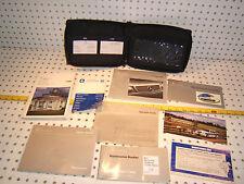 Mercedes 1996 W202 C220/280/C36 owner's 1 set 9 Manual &BLACK MBZ leather 1 Case