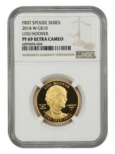 2014-W Lou Hoover $10 NGC PR 69 UCAM