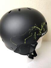 RED Trace Grom Helmet Size: 53-55YL  (Ski, Snowmobile, Biking)