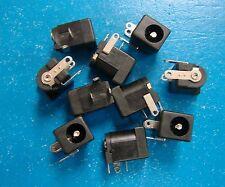 KLDX-0202-B PCB Mount 2.5mm DC Power Supply Jack 3-Pin, 2.5x5.5mm, Qty.10