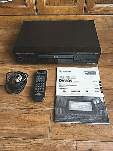 Pioneer DV-505 DVD Player (PAL & NTSC Outputs) + Remote Control & Manual